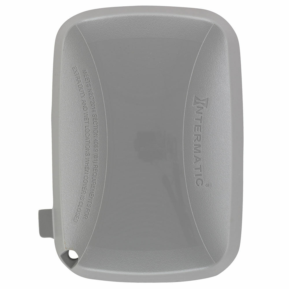 """Extra-Duty Plastic In-Use Weatherproof Cover, Single-Gang, Vrt/Hrz, 2.75"""" Gray redirect to product page"""