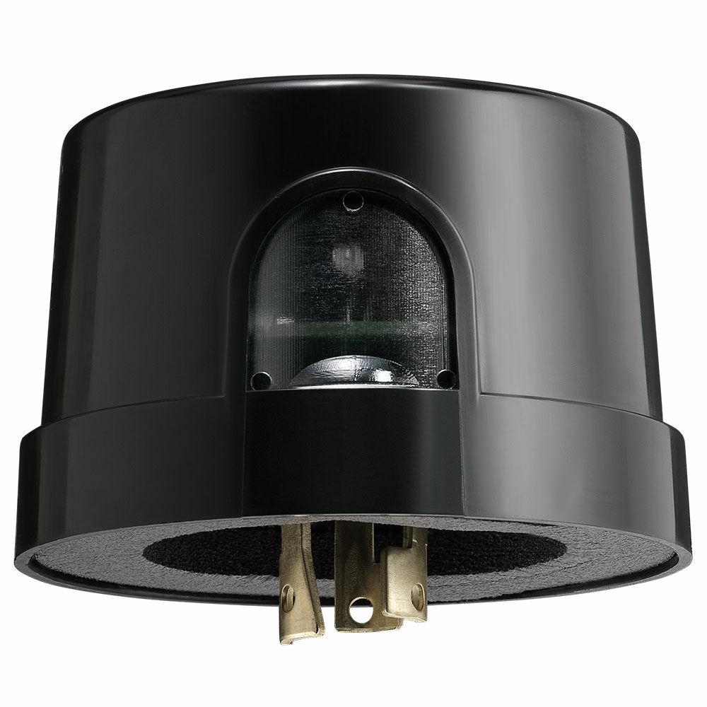 NightFox™ Select Grade Locking Type Electronic Photocontrol, 120-277 V, Black, 10kV/5kA Surge Protection Per C136.10 redirect to product page