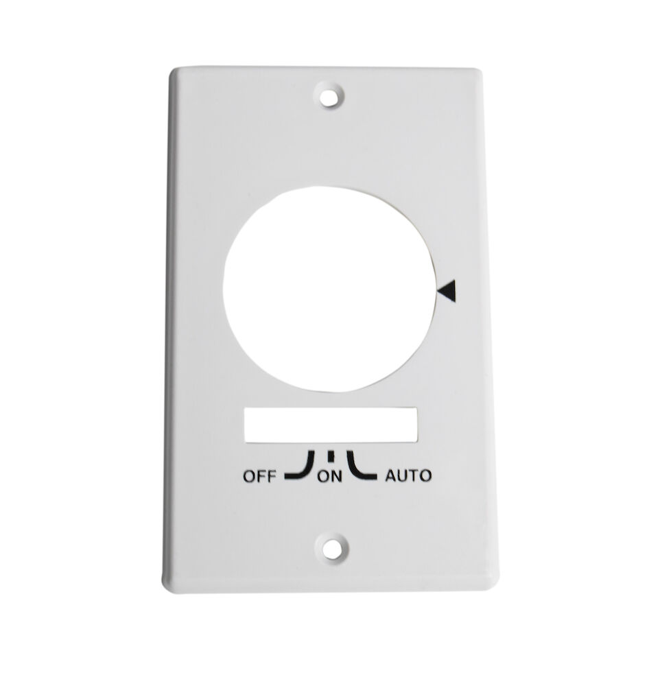Wall Plate for KM2ST-1G or KM2STU-1G, Single Gang, White redirect to product page